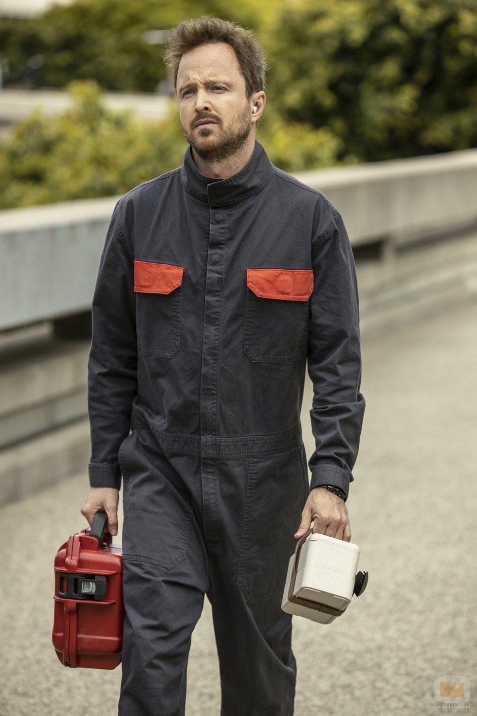 Aaron Paul es Caleb en la tercera temporada de 'Westworld'