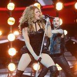 Mario Vaquerizo es Paulina Rubio en la Gala 9 de 'Tu cara me suena 8'