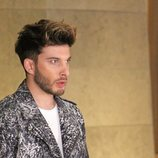 Blas Cantó en la grabación de la postal para Eurovisión 2020