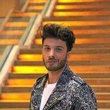 Blas Cantó grabando la postal de España para Eurovisión 2020