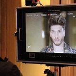 Blas Cantó en el rodaje de la postal para Eurovisión 2020