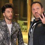 Blas Cantó con el director de su postal para Eurovisión 2020