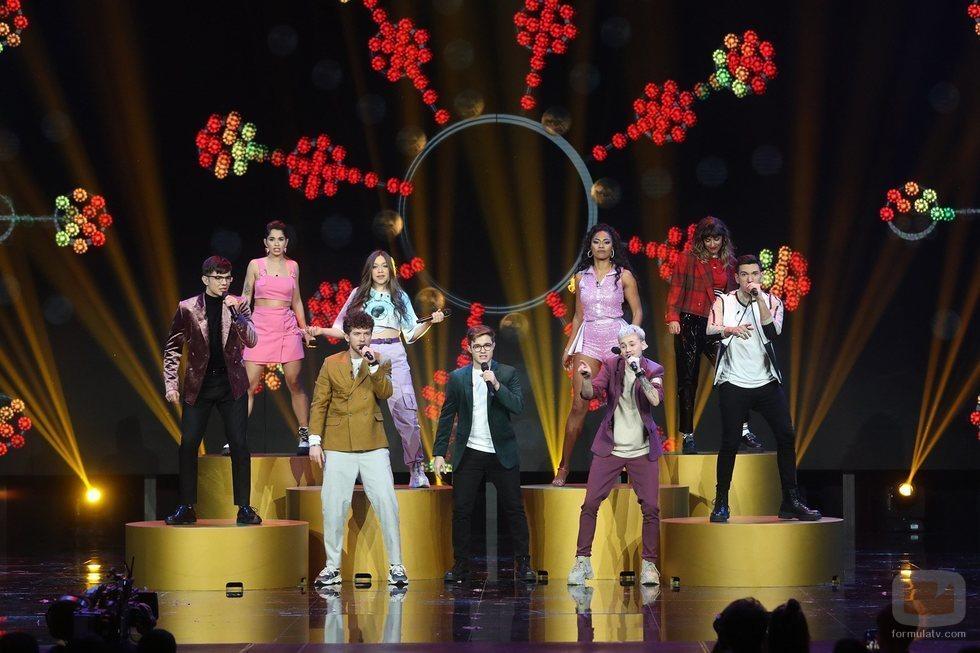 """Los concursantes de 'OT 2020' cantan """"No controles"""" en la Gala 8"""