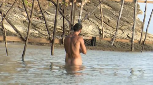 Jorge Pérez, pillado desnudo en 'Supervivientes 2020'