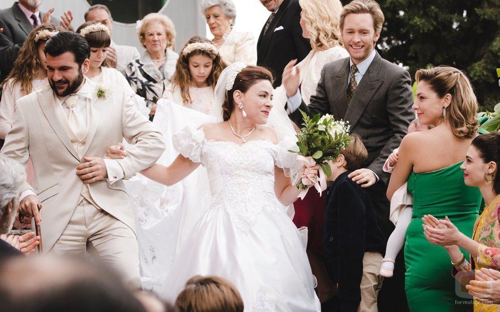 La boda de Venancio y Paquita en la temporada 20 de 'Cuéntame cómo pasó'