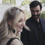 Ángela Cremonte y Javier Rey, en 'Mentiras'