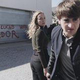 Ángela Cremonte y Óscar Ortuño, en 'Mentiras'