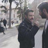 Miquel Fernández y Javier Rey, en 'Mentiras'
