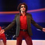 Mario Vaquerizo es Calamaro en la Gala 10 de 'Tu cara me suena 8'