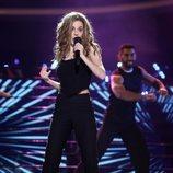Nerea Rodríguez es Natalia en la Gala 10 de 'Tu cara me suena 8'