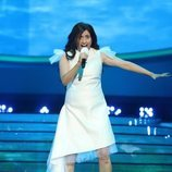 Cristina Ramos interpreta a Melani en la Gala 10 de 'Tu cara me suena 8'