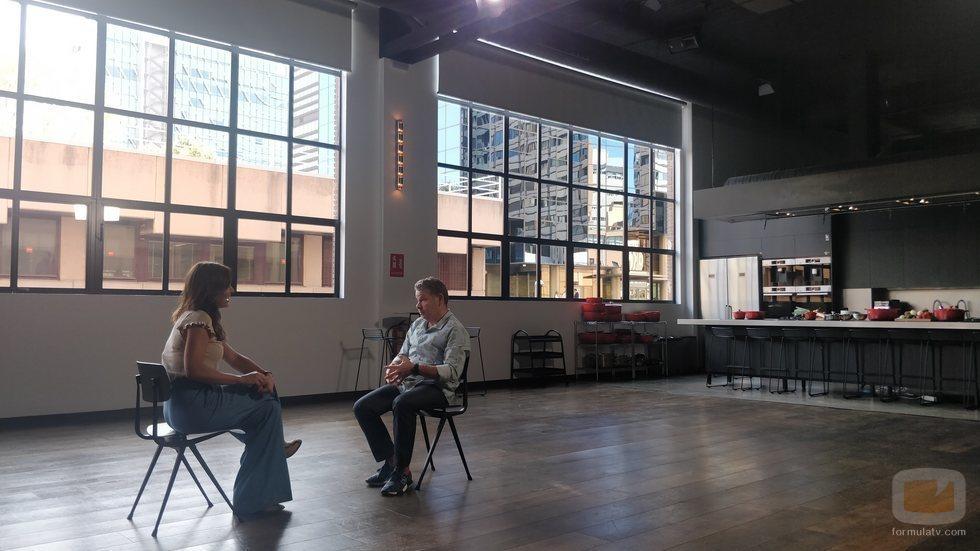 Mamen Mendizábal entrevista a Alberto Chicote en 'Palo y astilla'