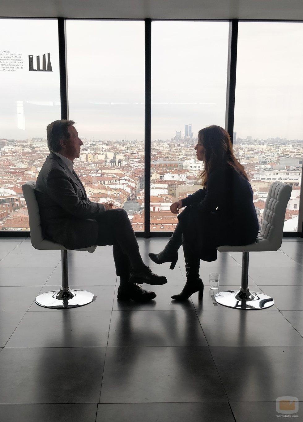 Mamen Mendizábal entrevista a Iñaki Gabilondo en 'Palo y astilla'