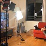 El set de Roberto Leal para presentar 'OT 2020' desde su casa