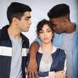 Omar, Nadia y Malick en la temporada 3 de 'Élite'