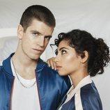 Guzmán y Nadia en un posado de la temporada 3 de 'Élite'