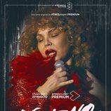 Isabel Torres en el cartel promocional de 'Veneno'
