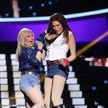 Mario Vaquerizo y Alaska son Sabrina y Samantha Fox en la Gala 11 de 'Tu cara me suena 8'