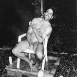 Miguel Ángel Silvestre, desnudo integral bajo la ducha