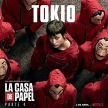 Póster de Tokio para la cuarta parte de 'La Casa de Papel'