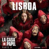 Póster de Lisboa para la cuarta parte de 'La Casa de Papel'