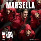 Póster de Marsella para la cuarta parte de 'La Casa de Papel'