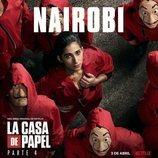 Póster de Nairobi para la cuarta parte de 'La Casa de Papel'