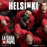 Póster de Helsinki para la cuarta parte de 'La Casa Papel'