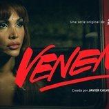 Daniela Santiago en un póster promocional de 'Veneno'