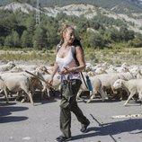 Mariló Montero se convierte en pastora en 'Entre ovejas'