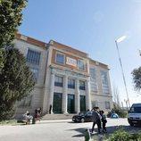 Edificio RNE, sede de 'El Ministerio del Tiempo', en su cuarta temporada