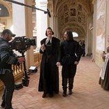 Edu Soto y Nacho Fresneda en la cuarta temporada de 'El Ministerio del Tiempo'