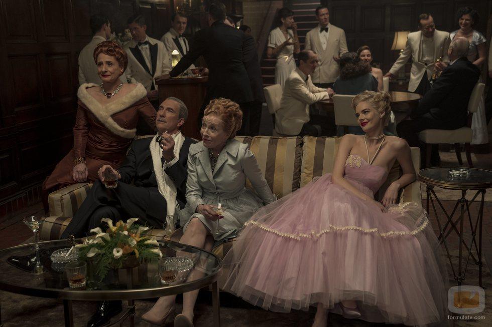 Dylan McDermott, Patti LuPone, Holland Taylor y Samara Weaving, protagonistas de 'Hollywod'