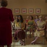 Un grupo de aspirantes a actrices acude a clase en 'Hollywood'