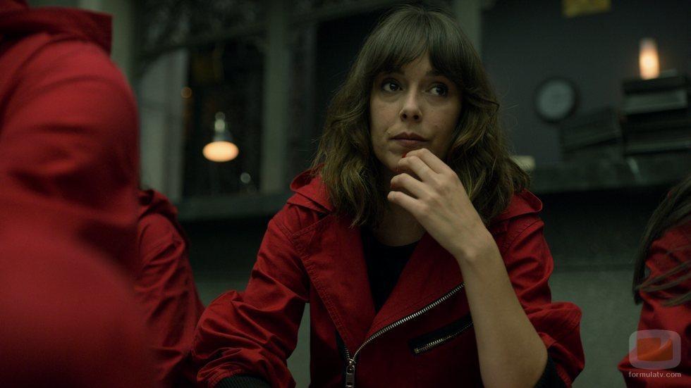 Julia en una secuencia de la parte 4 de 'La Casa de Papel'