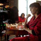 Belén Cuesta en el rodaje de la parte 4 de 'La Casa de Papel'