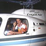 Ismael viaja en helicóptero a Telecinco en la final de 'GH 1'