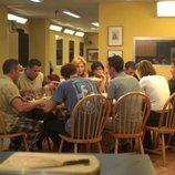 Los concursantes de 'GH 1' cenan tras la expulsión de María José