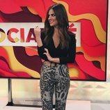 Alexia Rivas, reportera de 'Socialité'
