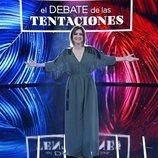 Sandra Barneda en el plató de 'El debate de las tentaciones'