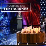 Sandra Barneda, frente a la hoguera de 'El debate de las tentaciones'