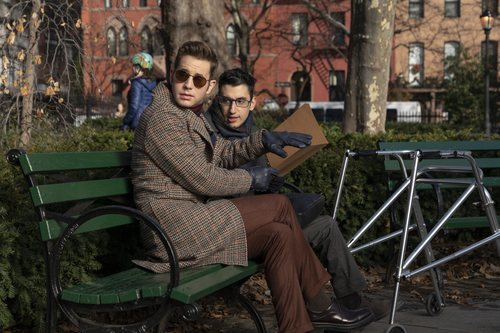 Payton y Andrew en el 2x03 de 'The Politician'