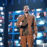 """Bruno Alves interpreta """"A las nueve"""" en la Gala 10 de 'OT 2020'"""