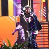 "Hugo Cobo interpreta ""Mmm Yeah"" en la Gala 10 de 'OT 2020'"