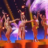 """Nia Correia canta """"Quimbara"""" en la Gala 10 de 'OT 2020'"""
