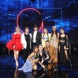 Los concursantes de 'OT 2020' posan juntos en la Gala 10