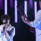 """Anne Lukin interpreta """"Salté"""" con Gèrard a la guitarra en 'OT 2020'"""