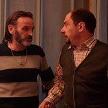 Fermín (Fernando Tejero) y Antonio (Jordi Sánchez) en la temporada 12 de 'La que se avecina'