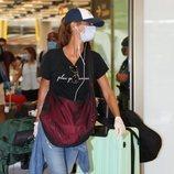 Elena Rodríguez llega a España desde 'Supervivientes 2020'