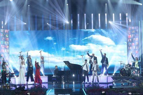 Actuación grupal de la Gala 11 de 'OT 2020'